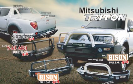 Bull Bar for Mitsubishi Triton