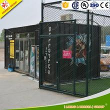 easy to use container hotel and offices design light steel structure prefab house canada