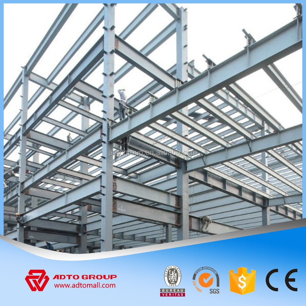 High Quality Light Steel Frame Beams Structural Metal Columns H ...