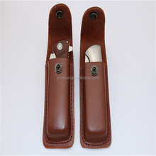 Wholesale Pocket Folding Leather Knife Sheath