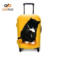 Luckiplus Elastic Transform Printed Trolley Case Cover Protective Luggage Cover