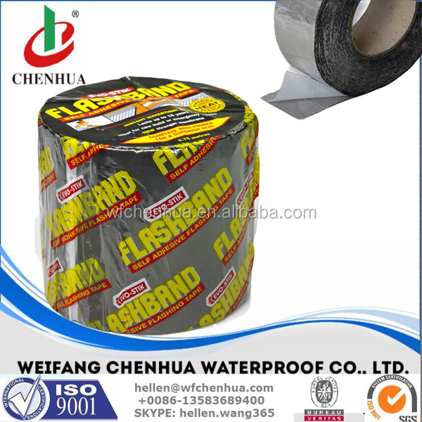 Self adhesive tape roll lead bitumen for waterproofing -- CHENHUA BRAND,China