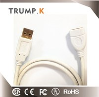 2M Extension USB 3.0 Cable AM to AF OD 5.5mm from changzhou