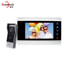 Bcomtech 7 Inch video door phone intercom system with IP65 waterproof