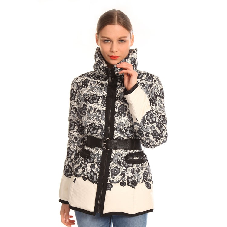 Customized Design High Quality Duck Feather Women Jacket