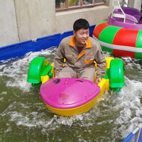 Inflatable Pool Hand Paddle Boat
