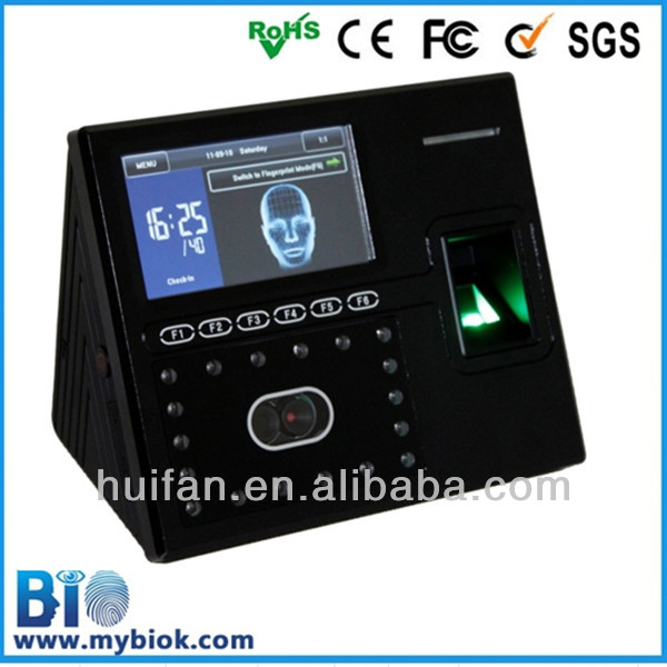 Provide free biometric solution and professional manufacturer of Facial Recognition Employee Payroll Time Clock (HF-FR402)