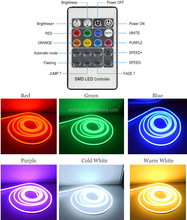 High Quality Color Changing 24v RGB Waterproof led neon flex strip light