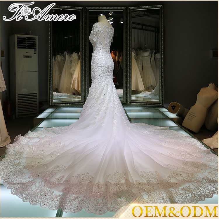 women wedding dress bridal gown white China made Guangzhou wedding dress 2017
