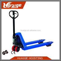 Huaige 5 Ton CE Hydraulic Pump Hand Pallet Truck Used with Hand Brake