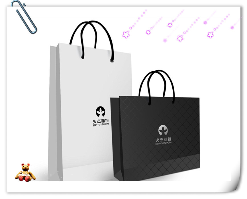 2017 Customized Paper bags printing