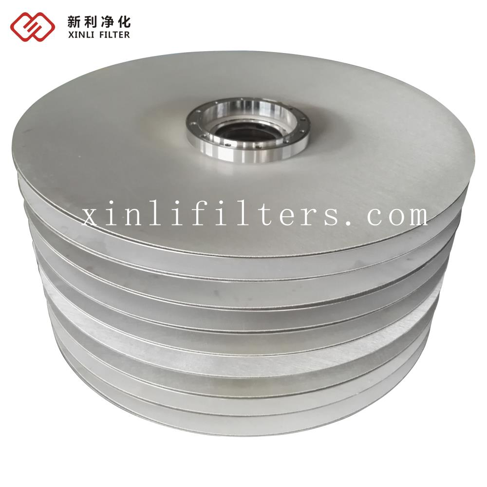 Replace PALL F-102 sintered wire mesh BDO pressure leaf filter