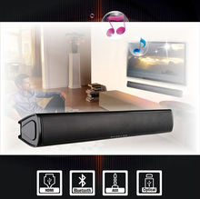 SOUNDBAR WITH HDMI/BLUETOOTH /OPTICAL INPUTS , BUILT-IN SUBWOOFER FOR SMAT TV , HOME THEATER SYSTEM