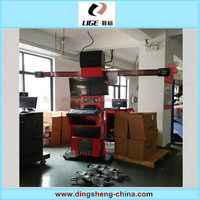 Auto 4 wheel alignment machine used tires alignment