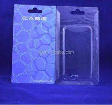 Clear Slide blister packing with color card