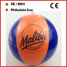 28cm Cheap promotional non toxic pvc inflatable branded beach balls