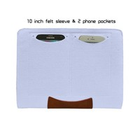 Hot selling genuine leather mobile phone cove for ipad mini 2