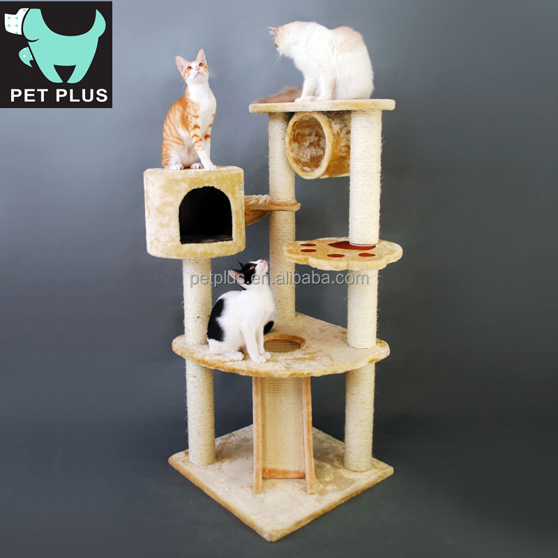 Hot sale Cat Climbing Frame Cat Tree for cats to hide and play