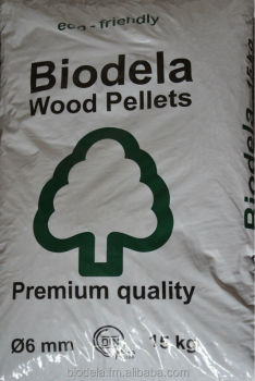 wood pellets 6 mm, DIN+ and FSC certified