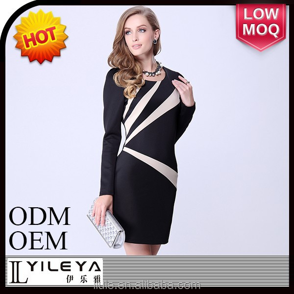 Fashional designed famous brand women dress
