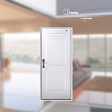 Shanghai Echome fireproof single pane swing metal shed door