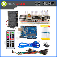 Factory supply directly electronic UNO R3 Basic starter kit for arduino