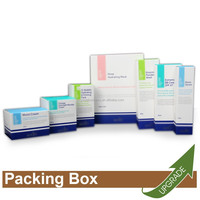 Hong Kong Manufacture Cosmetic Packing Folding Paper Box