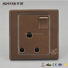 Manufacturer price OEM design plastic electric socket fast delivery