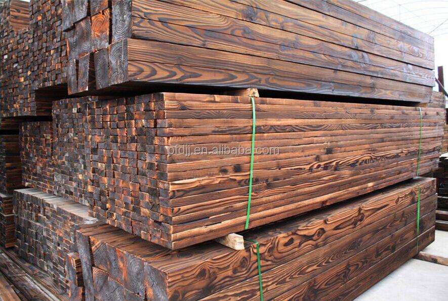 Carbonized wood beam buy carbon fiber beam solid wood for Real wood box beams
