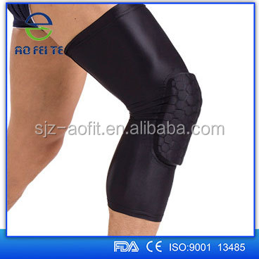 Basketball Knee Pads, 1 Pair / 2 Pcs Kneepad Honeycomb Knee Pads Leg Knee Sleeve Protective Pad Support Guard