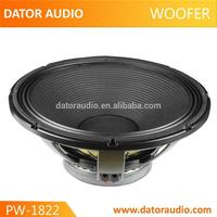 Excellent design low frequency rms 1000w speakers