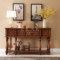 Chinese Praying Items High Narrow Table Console Table Walnut Wood