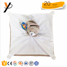 Wholesale doudou comforter custom newborn plush baby toy