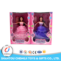 Intelligence new remote control cute christmas singing and dancing doll