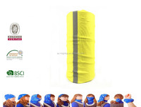 multifunctional tubular headwear with reflective strip