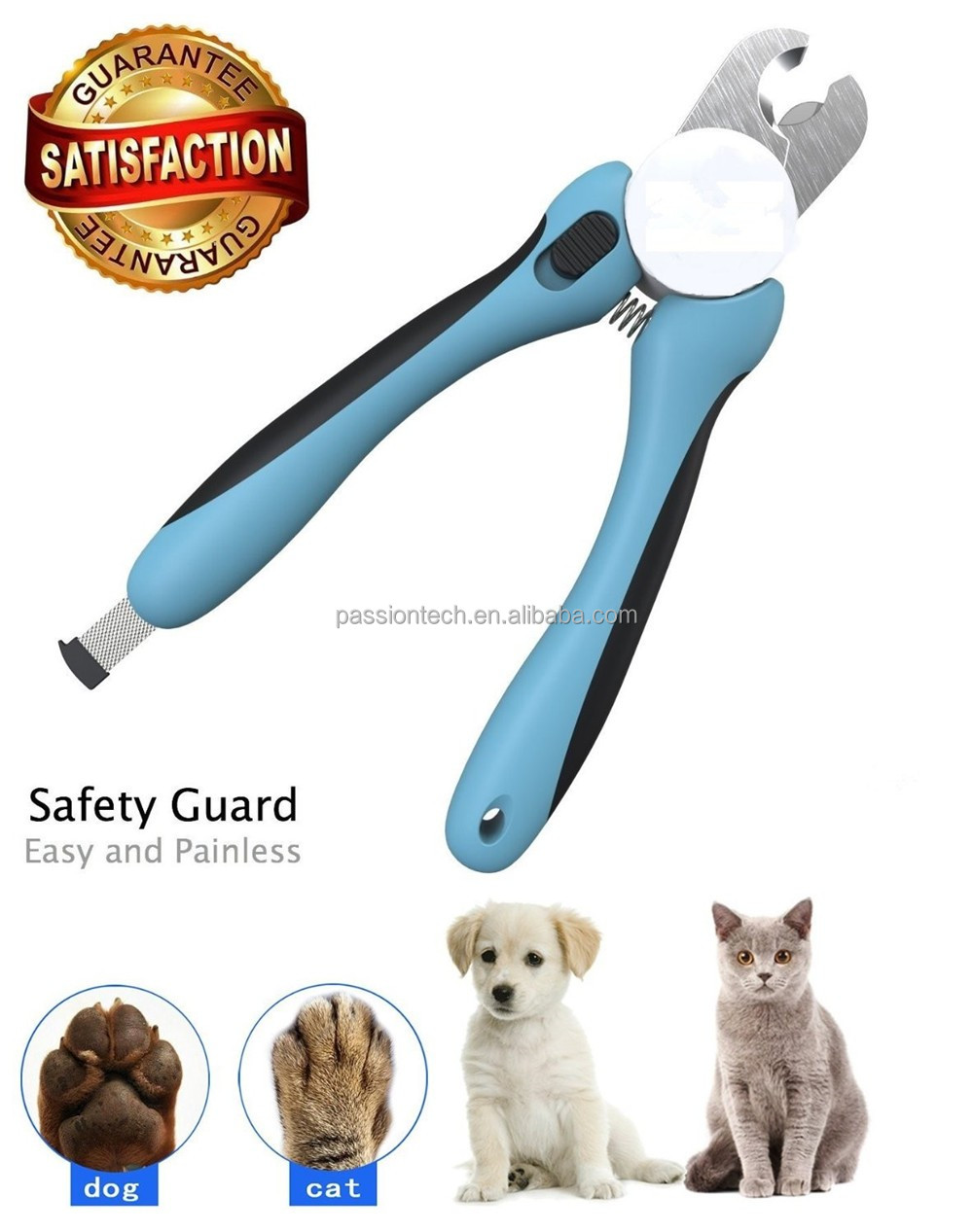Professional Nail Trimmer for <strong>dogs</strong>,pet nail gromming set,cat nail clipper