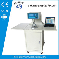 Fully Automatic fabric gas permeability testing instrument air permeability tester