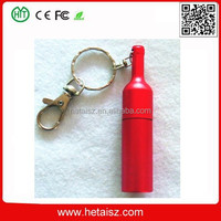 metal bottle shape usb flash drive, wine bottle usb 16 gb, beer bottle 200gb usb flash drive