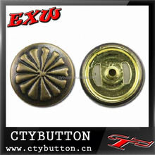 CTY-SO308 leopard head metal buttons