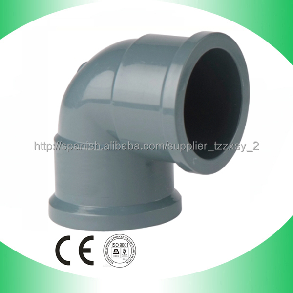 NBR5648 to Nigeria/Brazil Good quality pvc pipe fittings - PVC pipe elbow