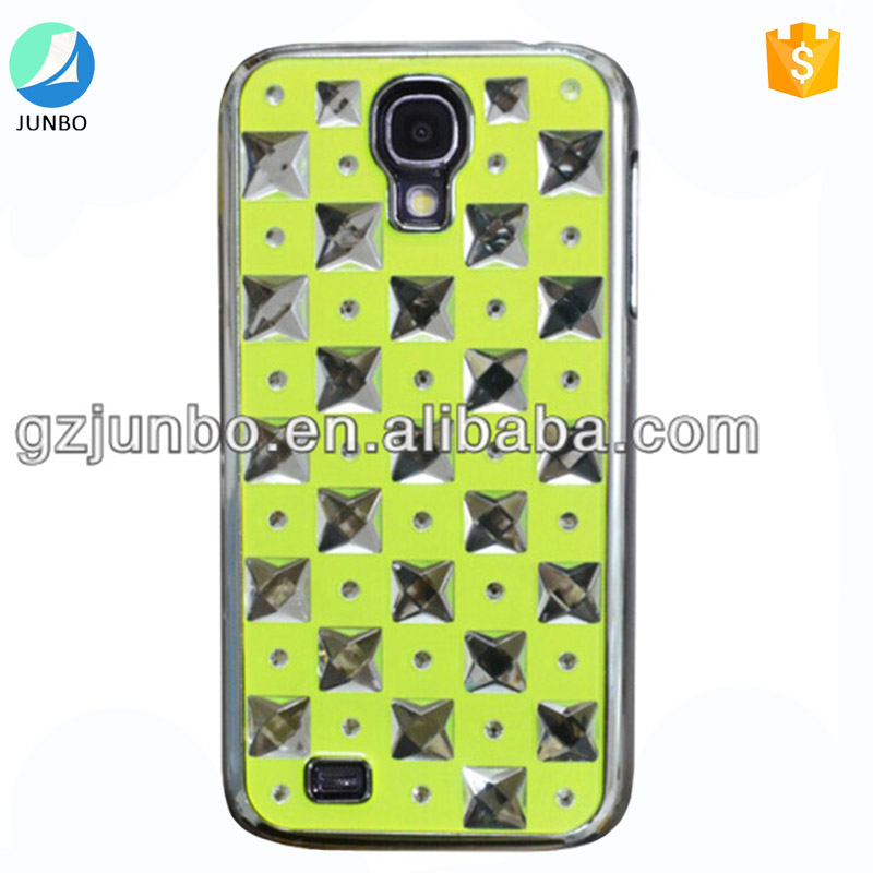 Shockproof cell phone cover stars decorative pc hard phone case for Samsung galaxy S4