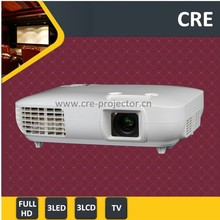 Home Cinema 300inch Full HD 1080P 3D Video LED LCD Projector Beamer Proyector Projektor 1920*1080 with remote control