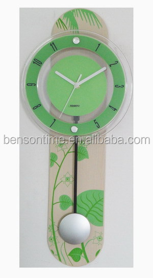 Fashion Pendulum Wall Clocks Wooden Wall Clocks