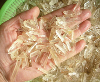 Raw Natural Tiny White Clear Quartz Crystal Original Points Rough Crystal,