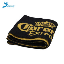 Facotry Wholesale Custom Promotion Cheap Sports football 100% acrylic winter Jacquard Knit Long knitted fan scarf