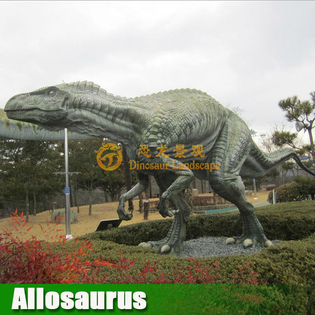 Popular amusement animatronic robotic artificial dinosaur for sale