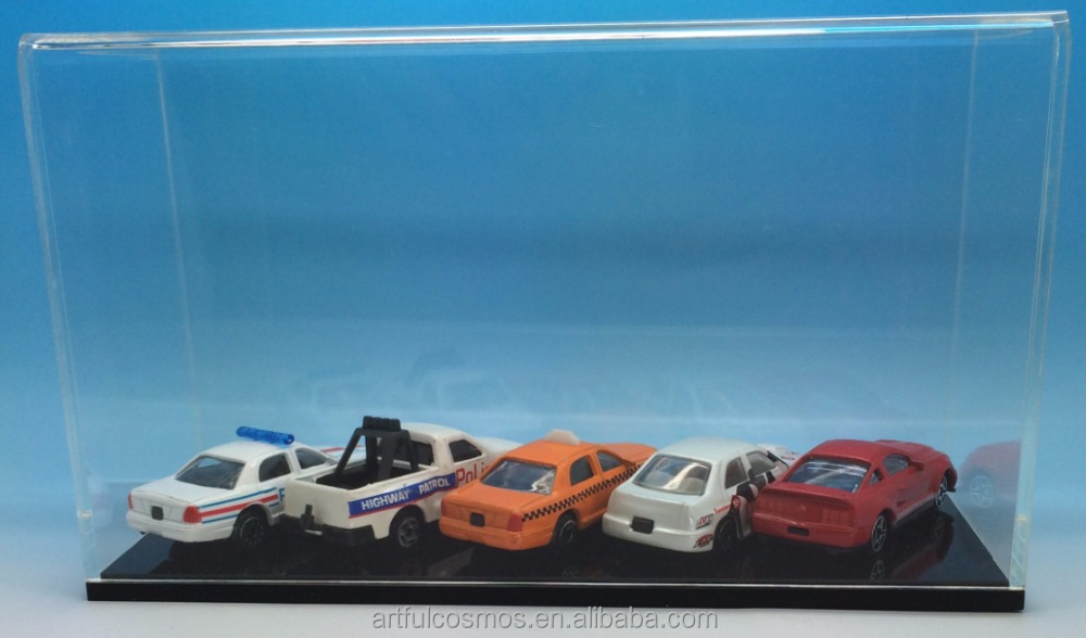 Diecast Car Acrylic Display Case 1: 24 scale for retail market