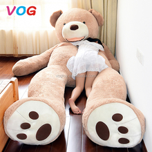 Factory china wholesale custom logo huge giant 200cm 300cm teddy bear plush toy