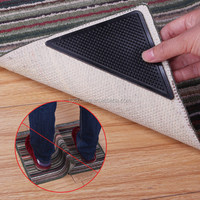 Bulk cheap products Reusable Silicone anti-slip Ruggies Rug Carpet Mat/Silica Gel Rug Grippers Rug Grip Corners Pad