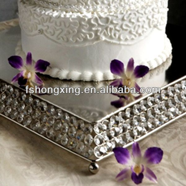 Crystal Cake Stand for Wedding Party Decoration